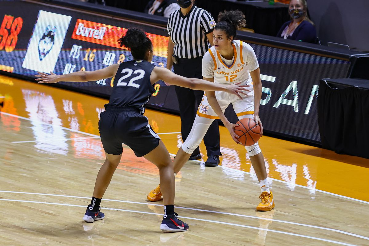 NCAA Womens Basketball: Connecticut at Tennessee