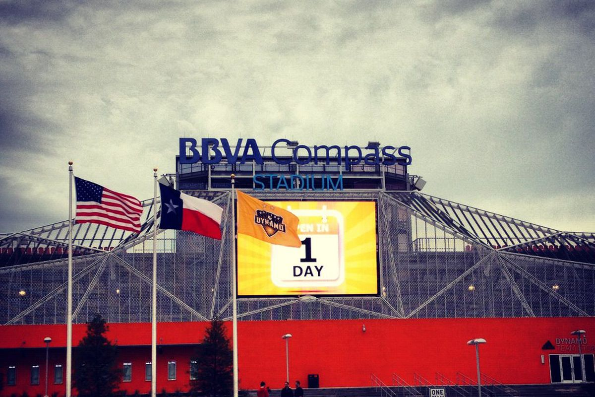 The final countdown before BBVA Compass Stadium opens