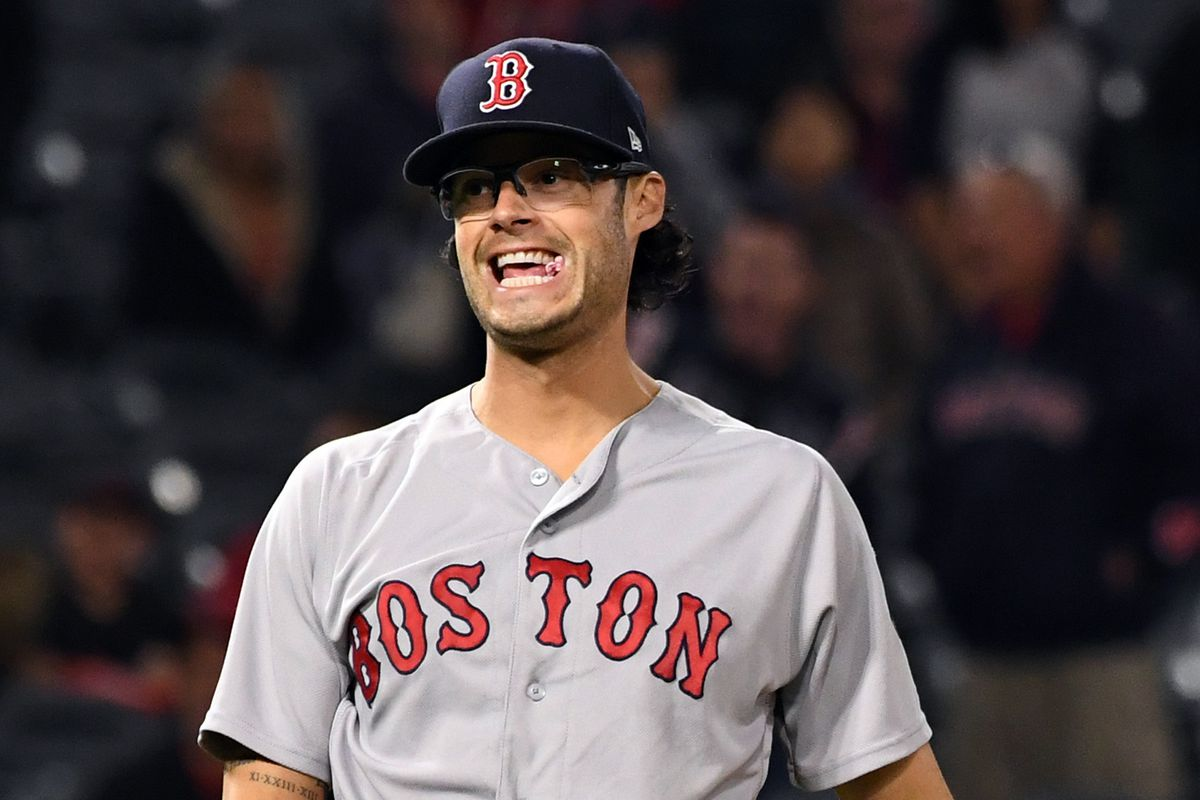 save off be55e d76cc Red Sox reliever Joe Kelly is enjoying his 6 game suspension ...