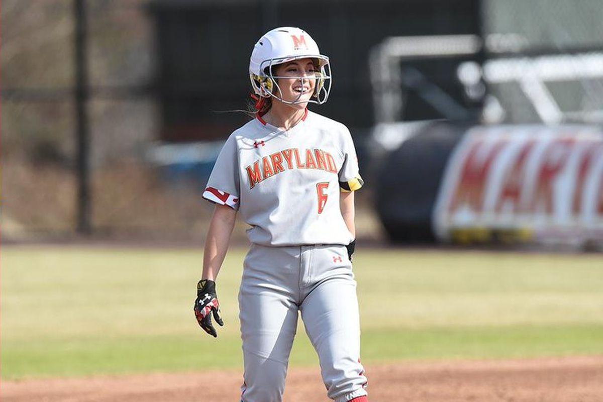 Maryland softball JoJo McRae