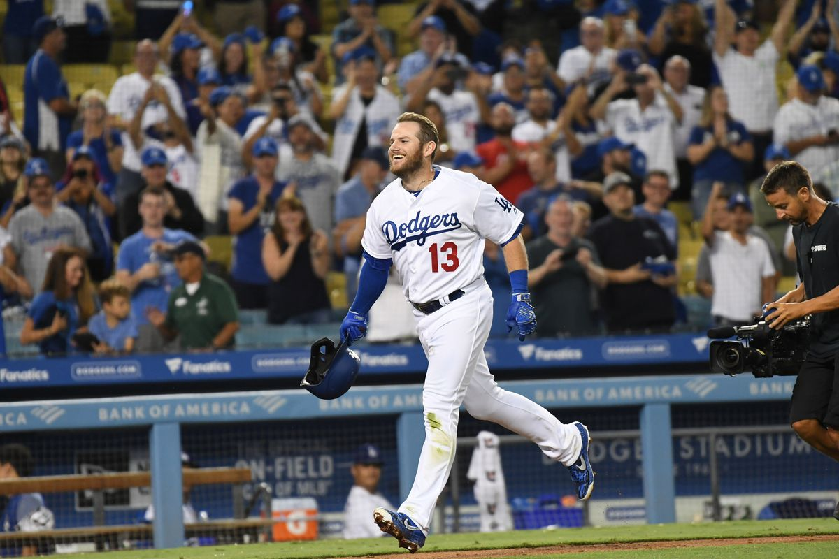 Player of the series: Max Muncy