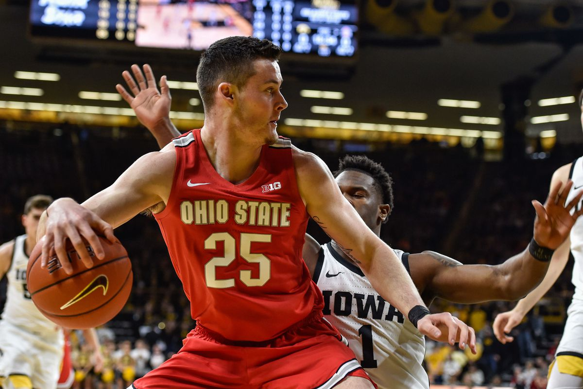 NCAA Basketball: Ohio State at Iowa