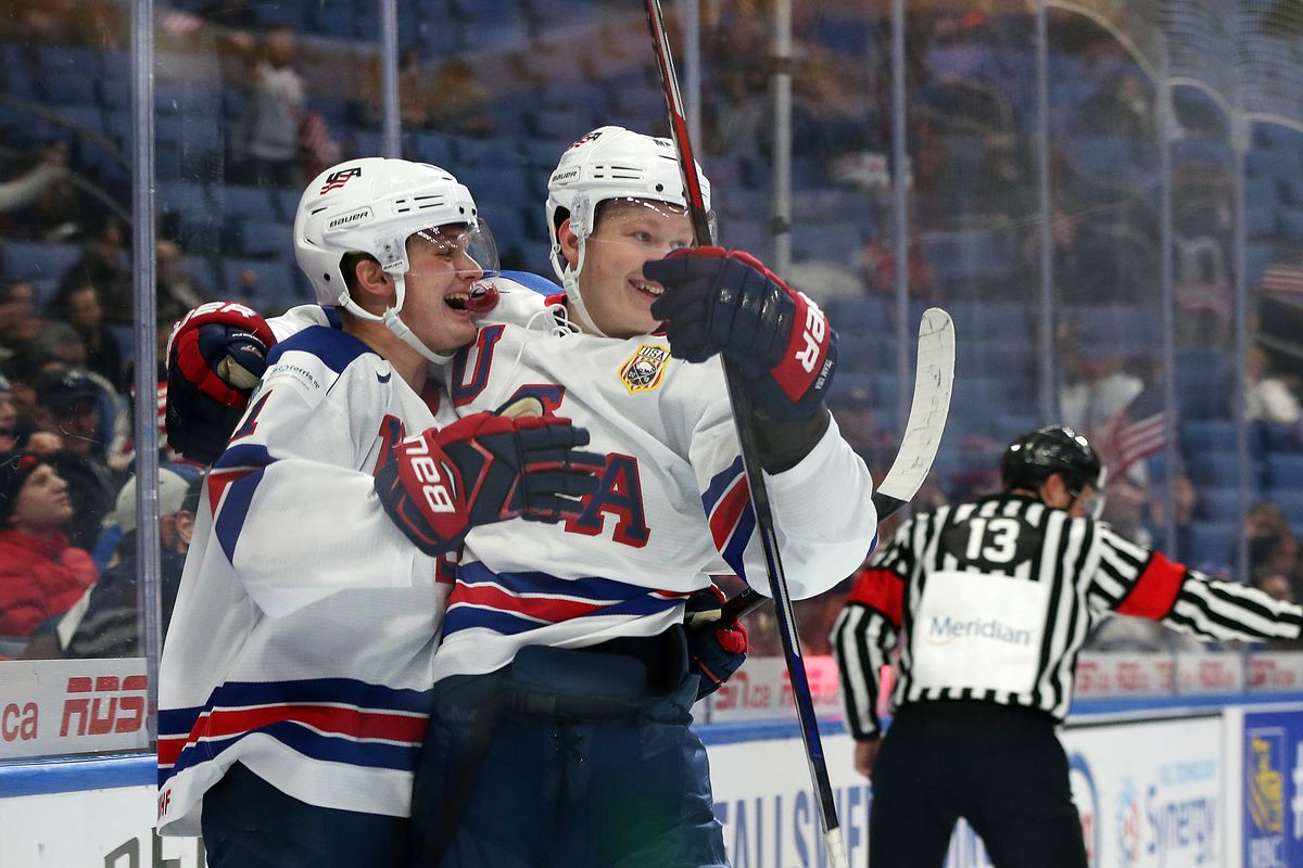 dfbbe3e624a 5 NHL prospects who stood out for Team USA at 2018 World Juniors ...
