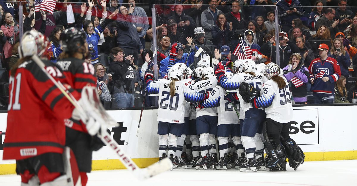 USA wins Game 5 of 2020 Rivalry Series in front of record crowd in Anaheim