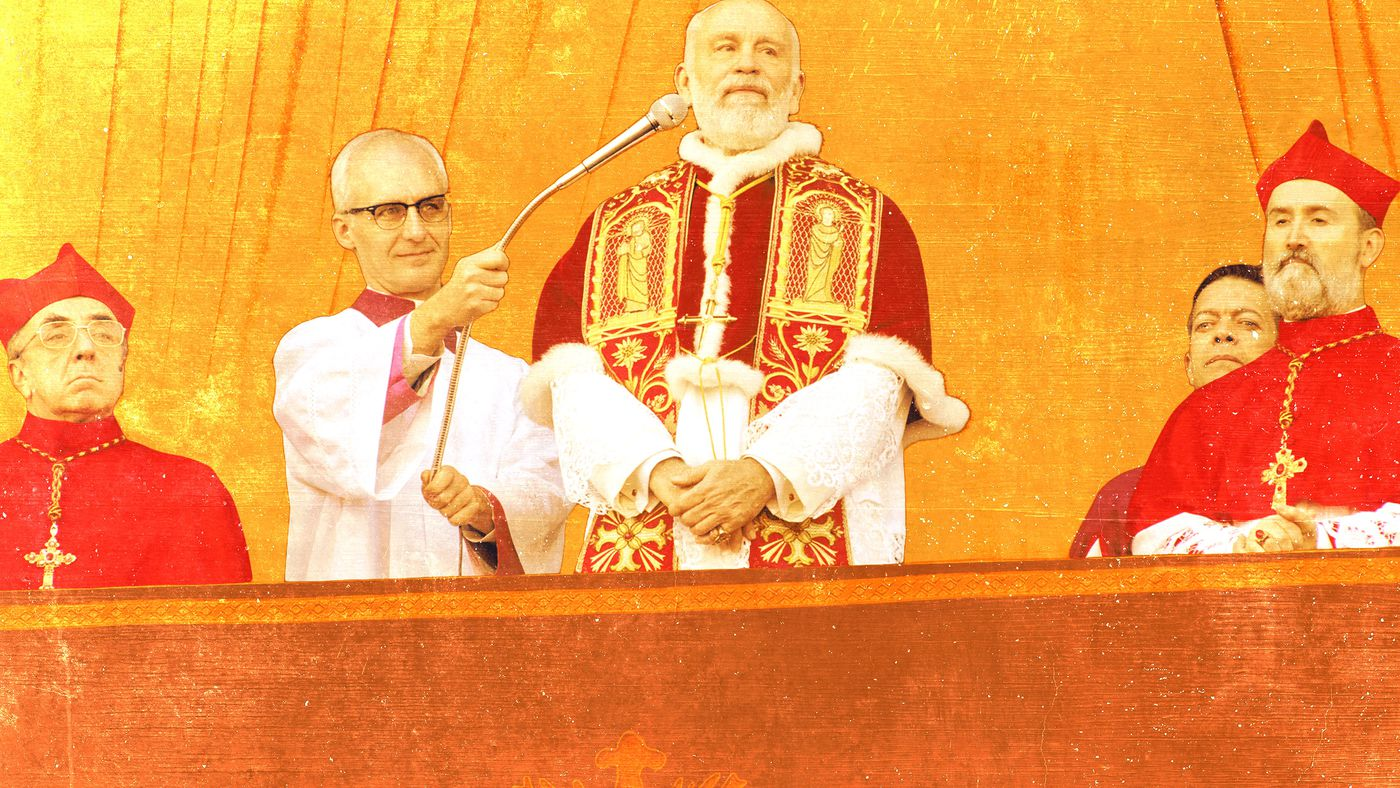 'The New Pope' Gets Meta, Opens a John Malkovich–Shaped Pandora's Box