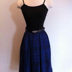Pueblo Print Swizzle Skirt $326