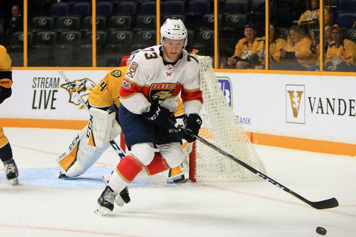 NHL: SEP 19 Preseason - Panthers at Predators