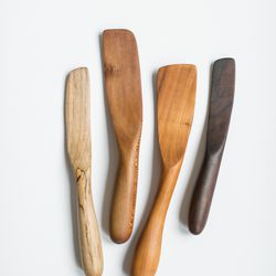 If mom turns up in the kitchen, Knotwork LA's gorge wooden tools will be a big hit.