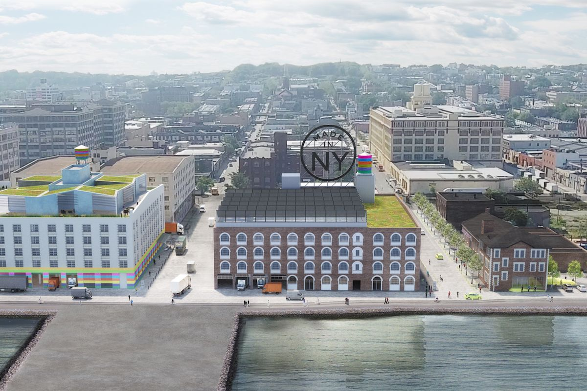 sunset park will become home to a sprawling hub for nyc 39 s fashion industry curbed ny. Black Bedroom Furniture Sets. Home Design Ideas