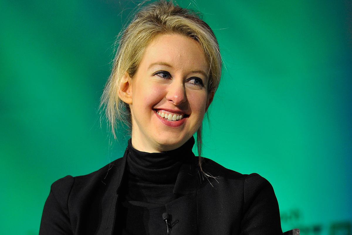 Theranos chair, CEO, and founder Elizabeth Holmes.