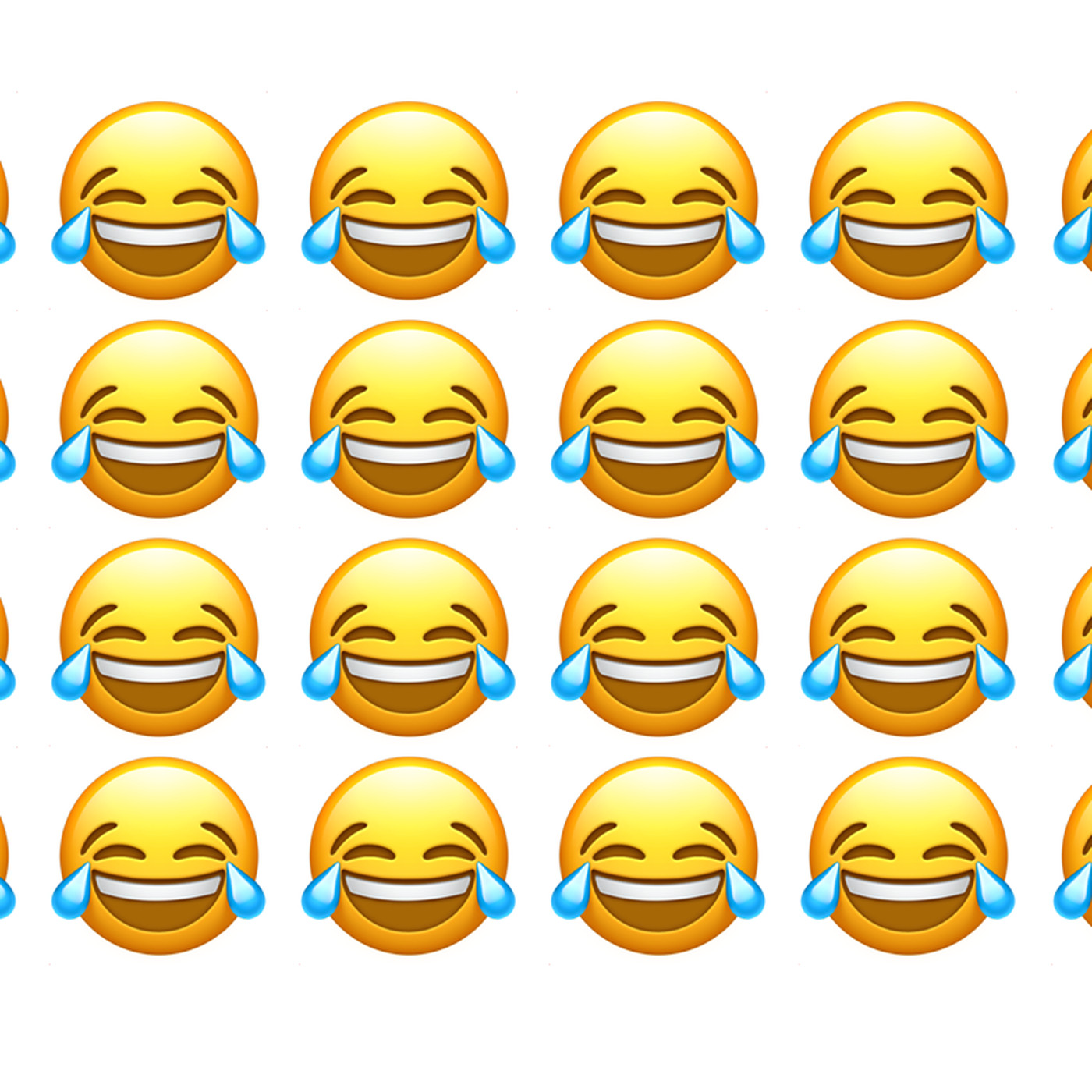 The Face with Tears of Joy emoji is the most popular - The Verge 53da6d1e637a6