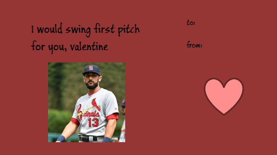 Happy Valentines Day I Made You Some Cards A Hunt And