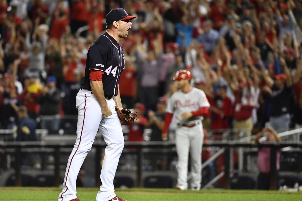 MLB: Game Two-Philadelphia Phillies at Washington Nationals