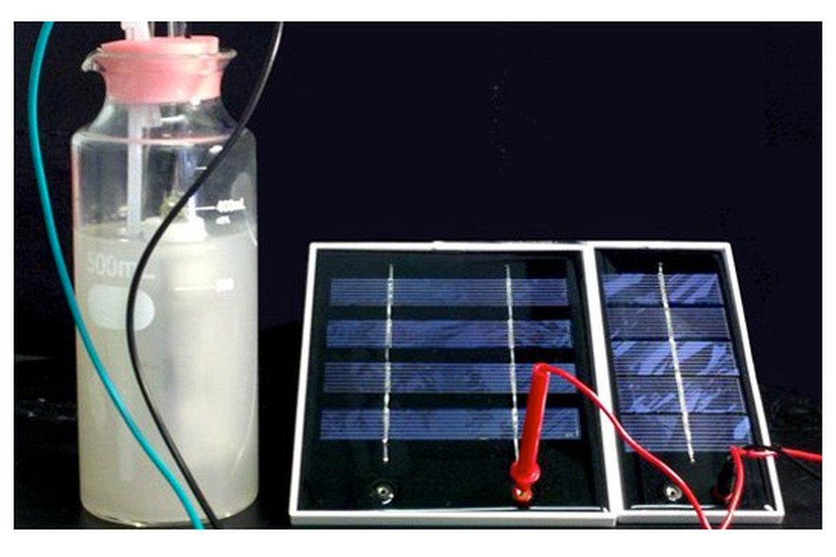 Solar fuel creation