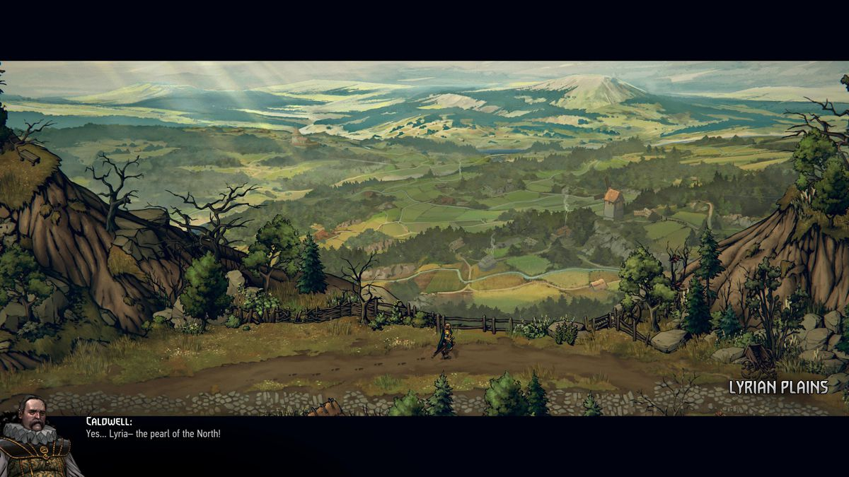 Thronebreaker: The Witcher Tales - talking with Caldwell on the Lyrian Plains