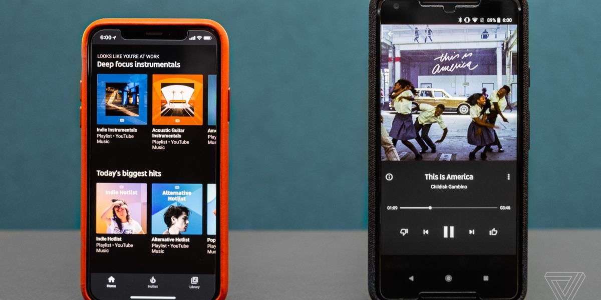 Youtube Music Review The Verge
