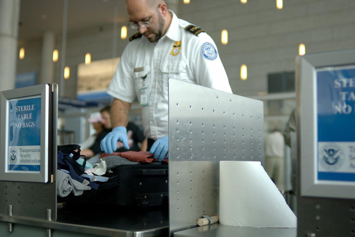 SHUTTERSTOCK TSA security