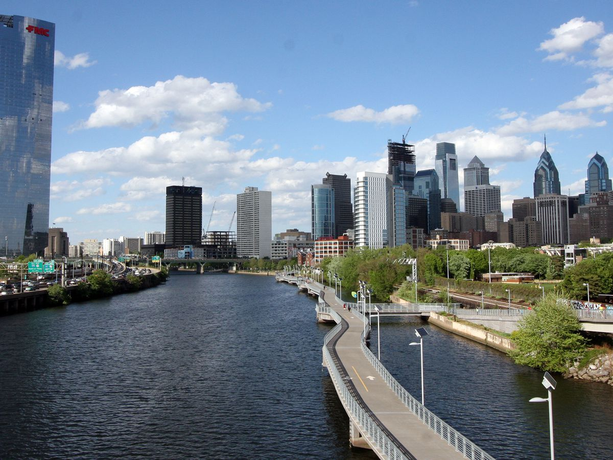 Mapping the developments and projects along the Schuylkill River - Curbed Philly