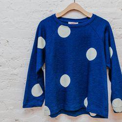"""<b>YMC</b> <a href=""""http://www.spiritualameri.ca/new-arrivals/spot-sweatshirt.html"""">Spot</a> Sweatshirt, $184"""