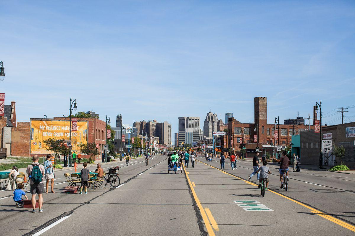 Exploring Open Streets Detroit