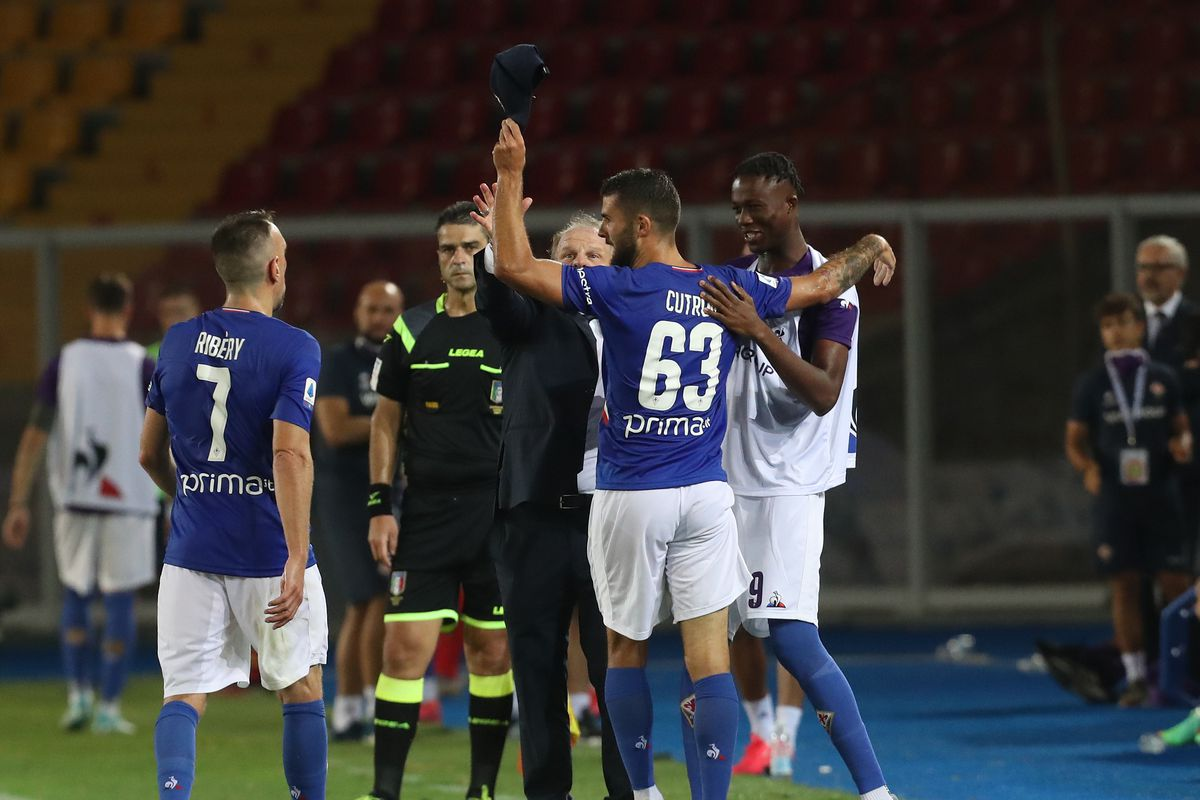 US Lecce v ACF Fiorentina - Serie A