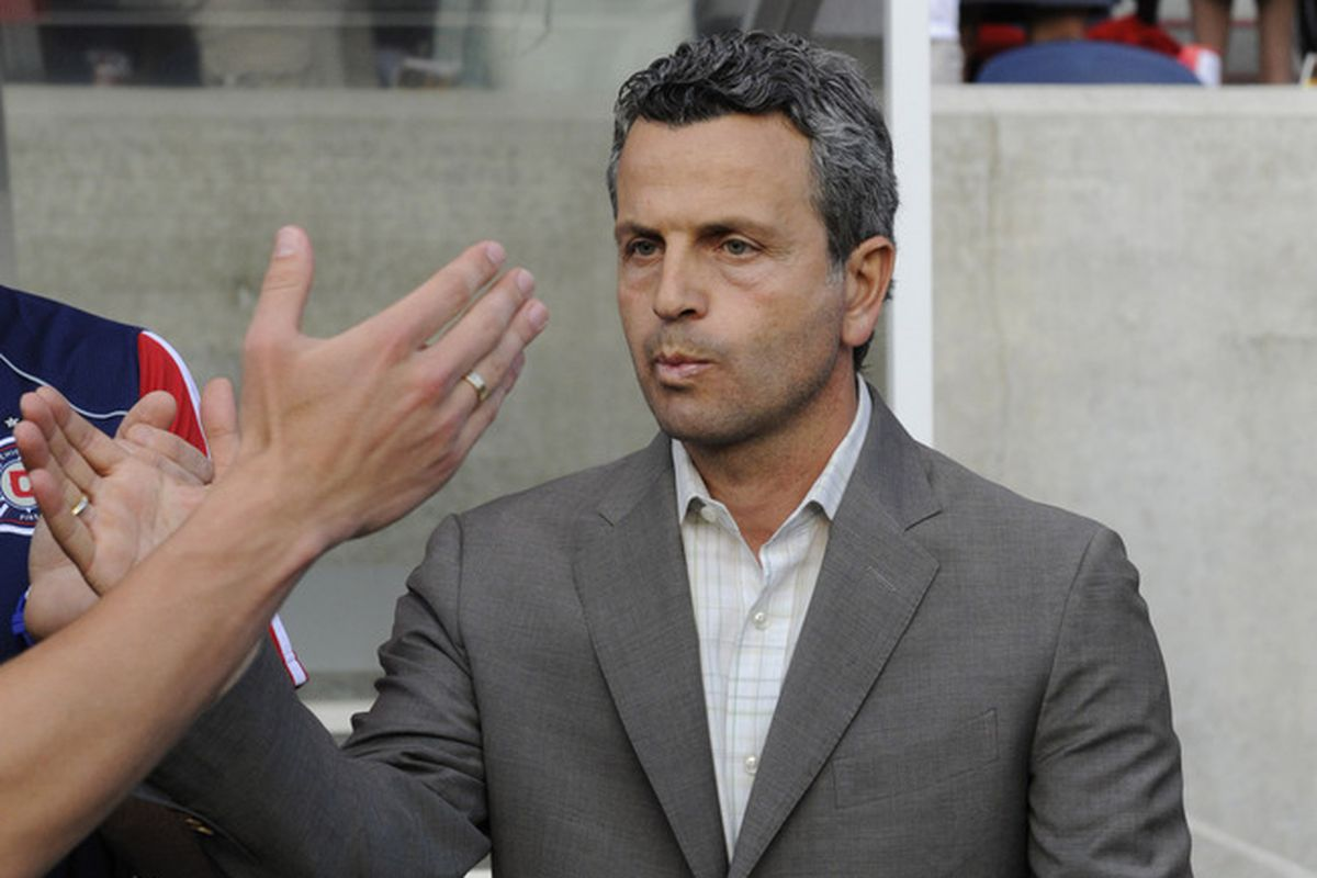 Multiple reports have Frank Klopas given the bums' rush.