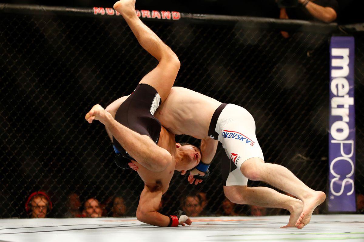 UFC Fight Night Las Vegas: Benavidez v Makovsky
