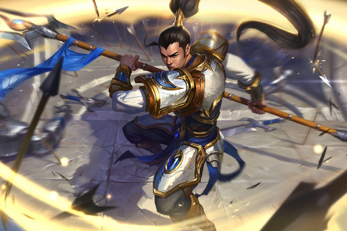 Xin Zhao gets updated base splash art - The Rift Herald