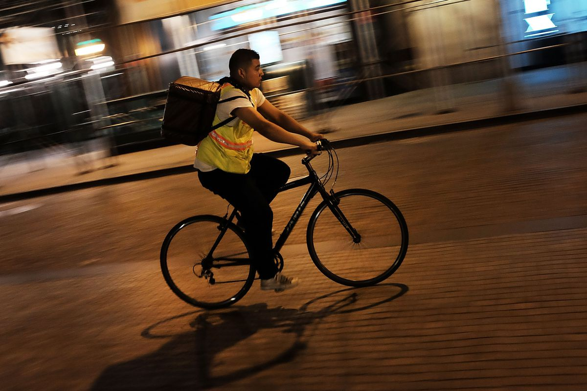 Uber Joins Nyc Food Delivery Start Up Rat Race Today With Stand