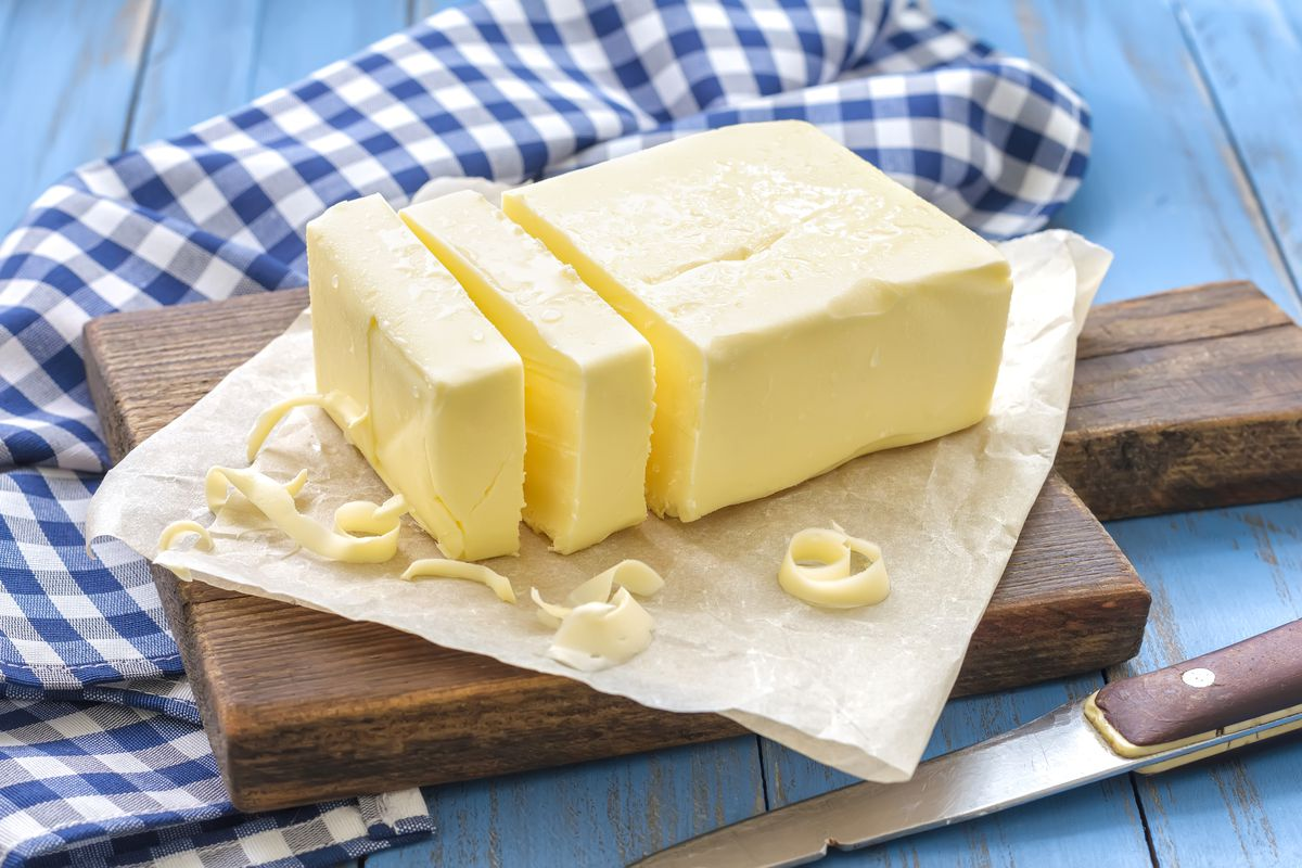 Butter prices climbed by 16.5 percent in one year.