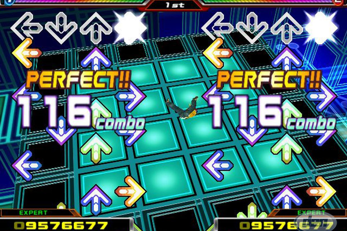 Game Info - Press the arrows in order they appear once they reach the top with good timing along with the music. Can you evolute yourself to become the best DDR Master and pass the hard to the hardest difficulties and beat all your friends? Compete and Conquer!