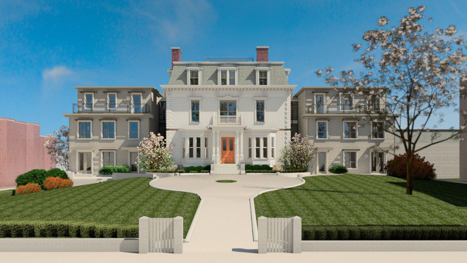 South Boston S James Collins Mansion Conversion Complete