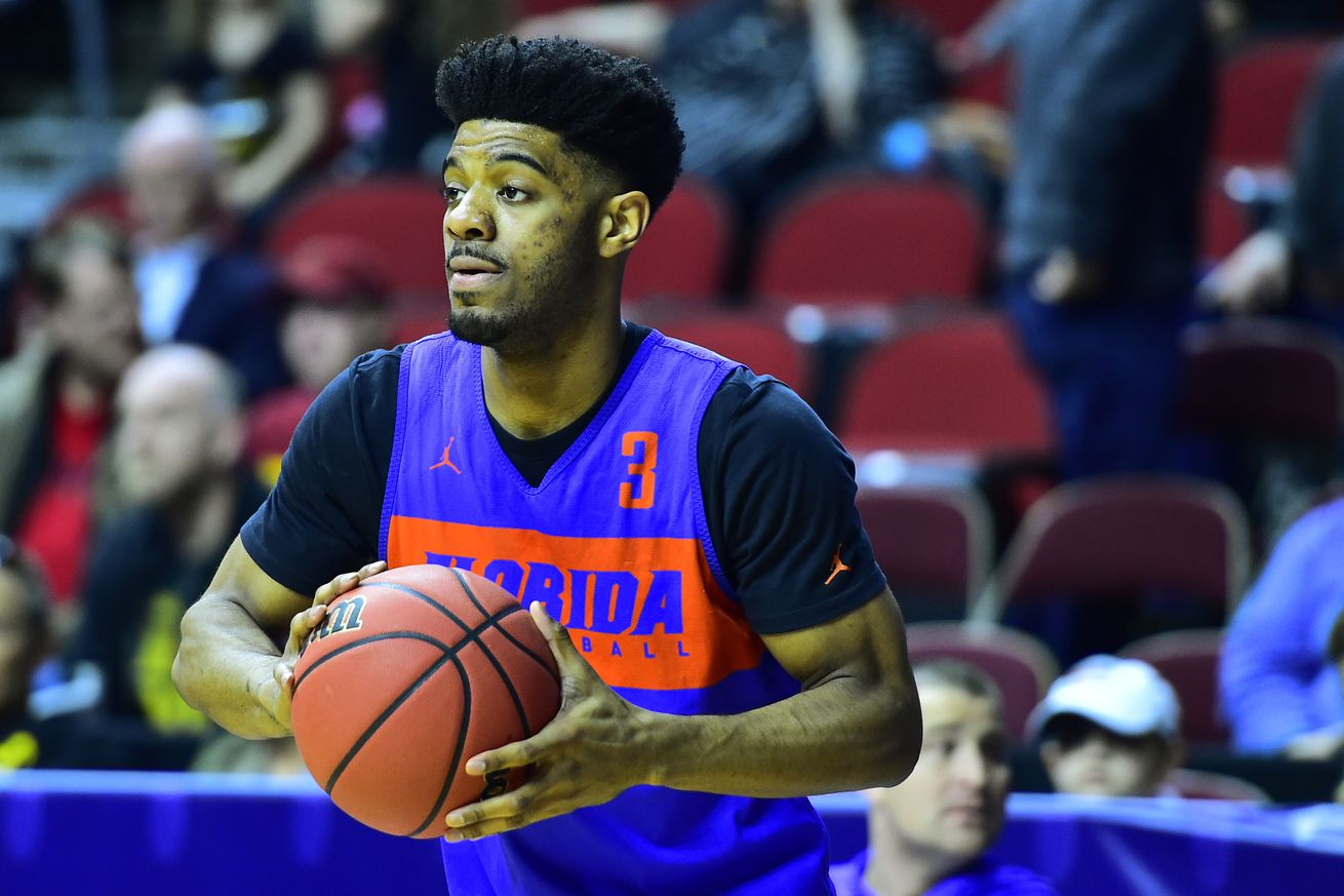 Jalen Hudson and the Florida Gators take on the Nevada Wolf Pack in Thursday's first evening tip.