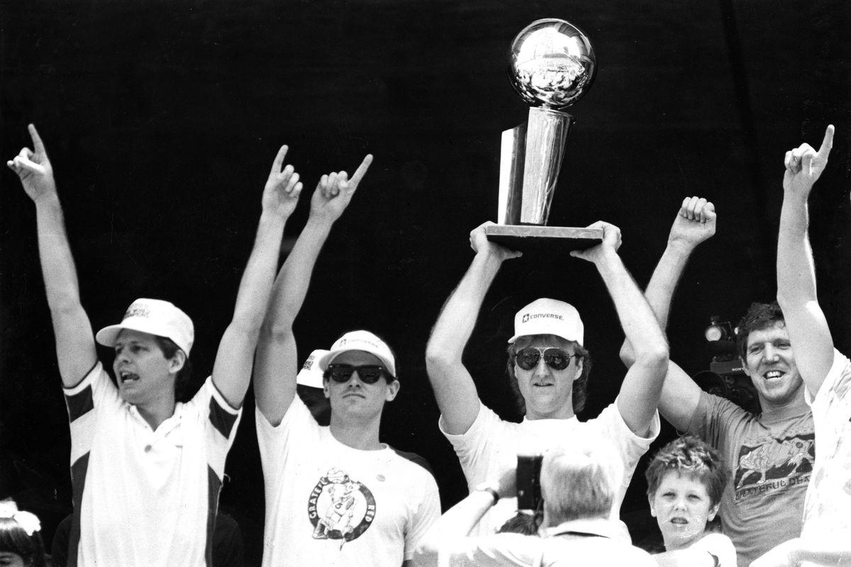 1986 Boston Celtics NBA Championship Victory Parade