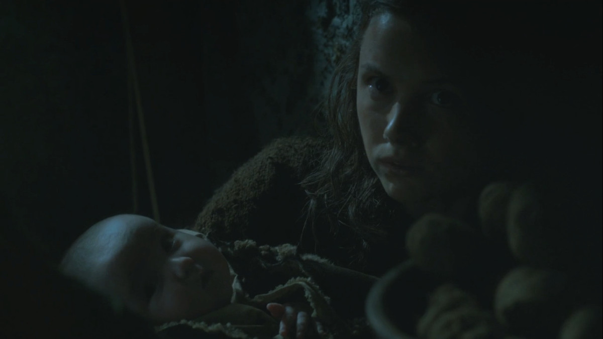 Game of Thrones - Gilly and baby Sam