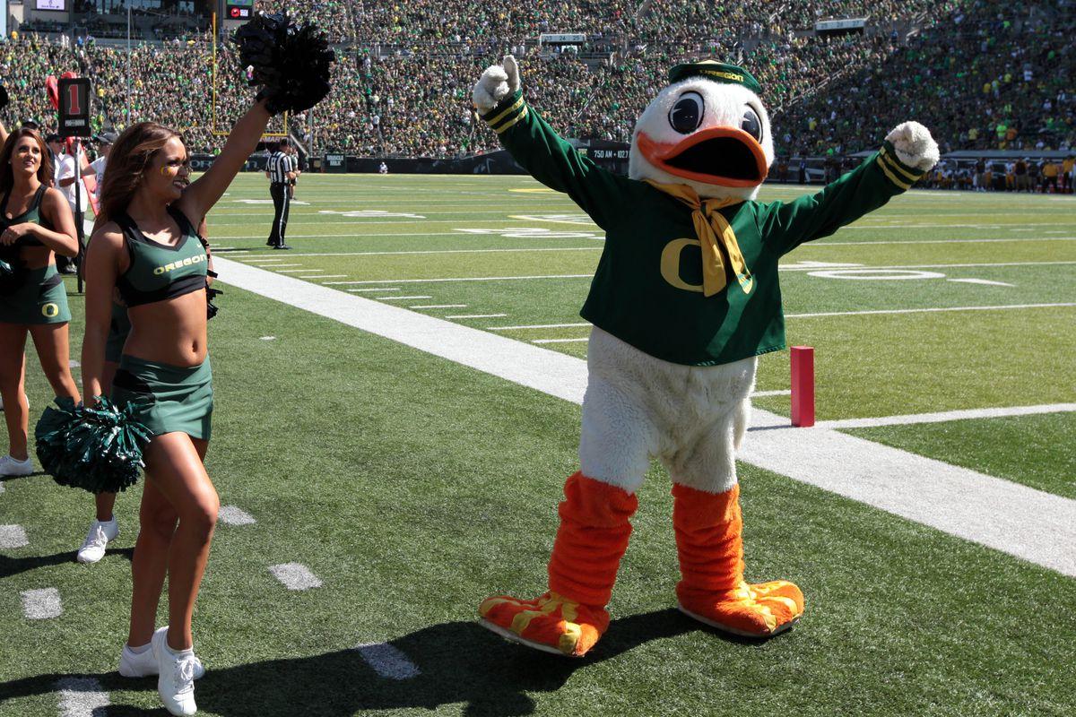 The Oregon Duck has plenty of reasons to be celebrating