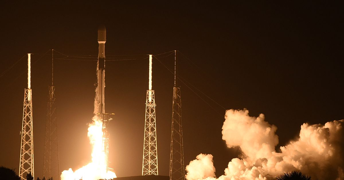SpaceX Falcon 9 rocket launches for a record ninth time bringing 60 more Starlink satellites into orbit