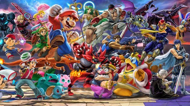 Super Smash Bros. Ultimate - all the characters