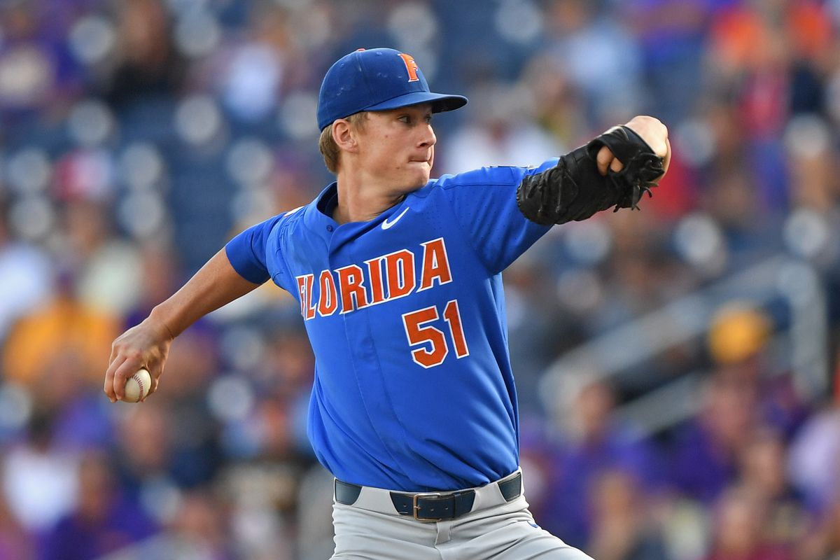 new concept 4937f d3c95 Florida tops Auburn, 8-2, behind fine day from Brady Singer ...