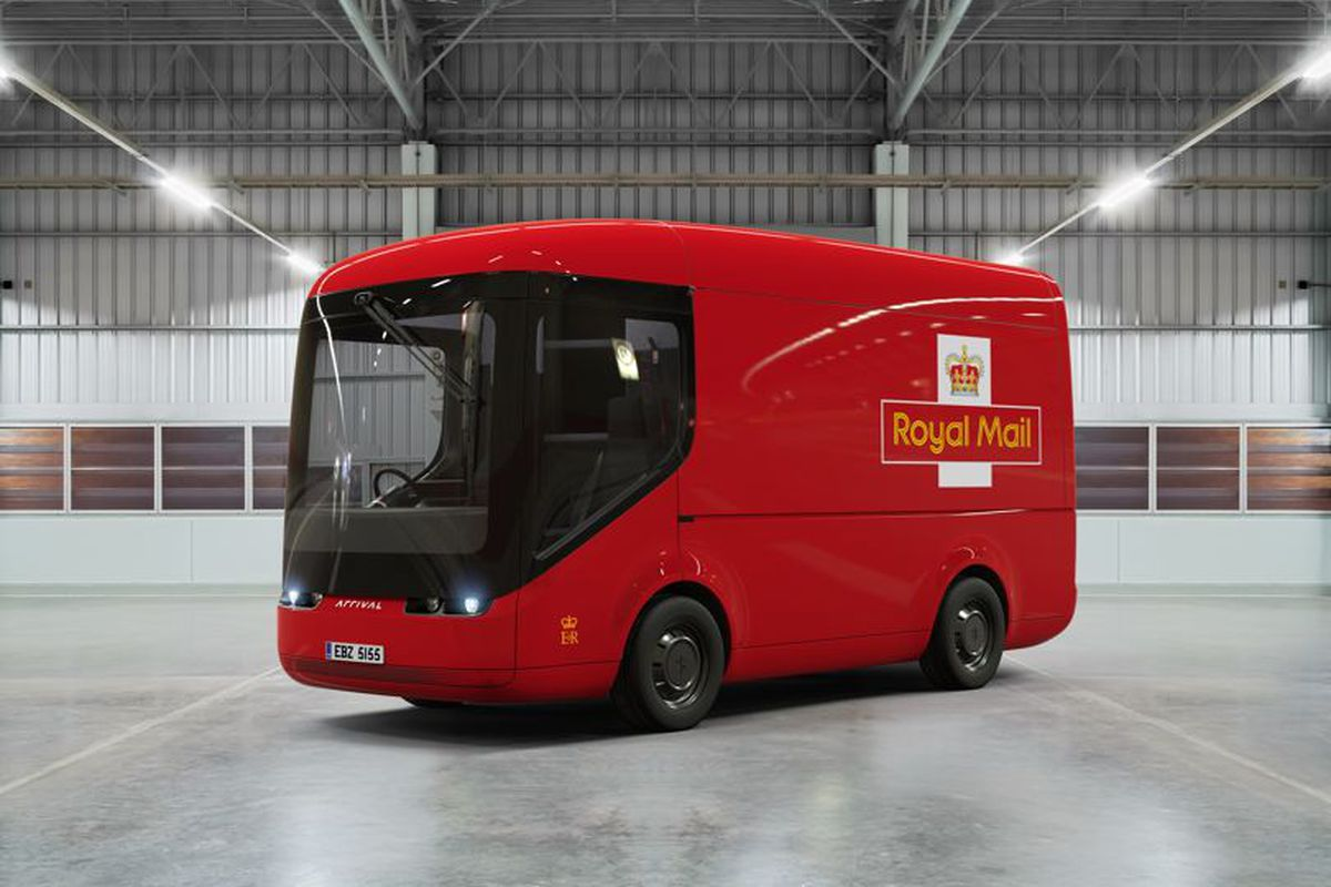 Royal Mail unveils new electric and autonomous truck made by Arrival