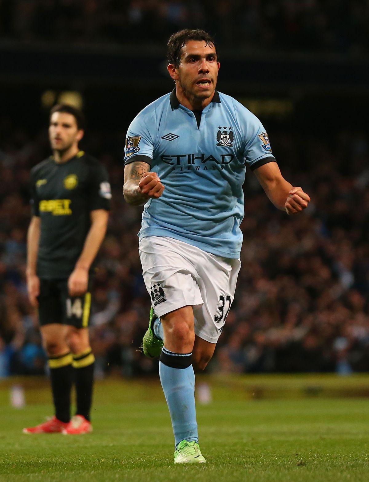 Manchester City v Wigan Athletic - Premier League