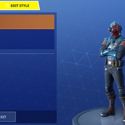 The Visitor's default face mask