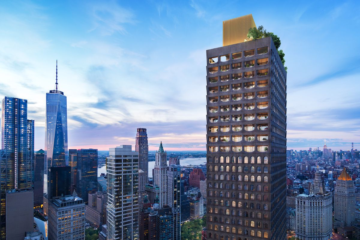 David Adjaye S Financial District Condo Is Beginning To