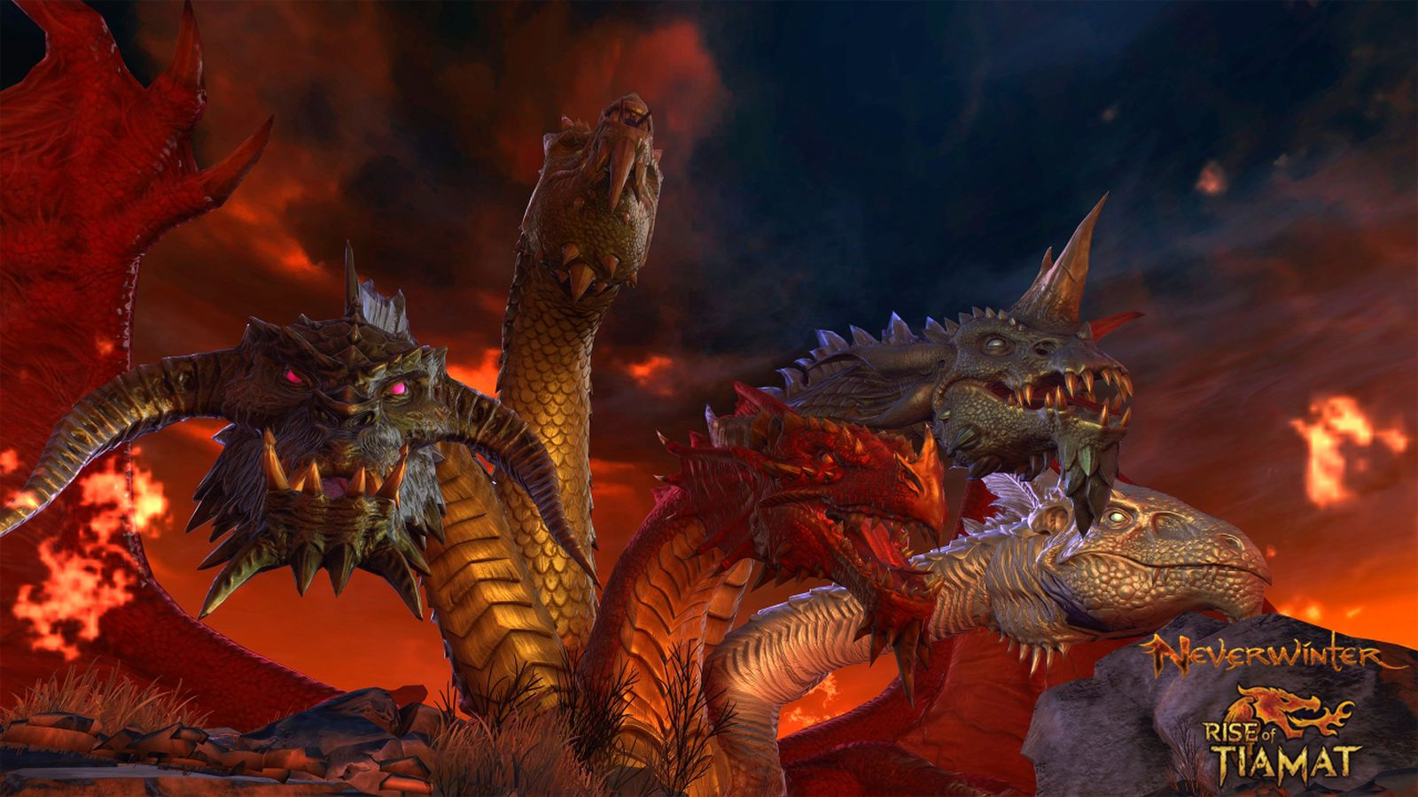 Neverwinter MMO brings Rise of Tiamat expansion to Xbox