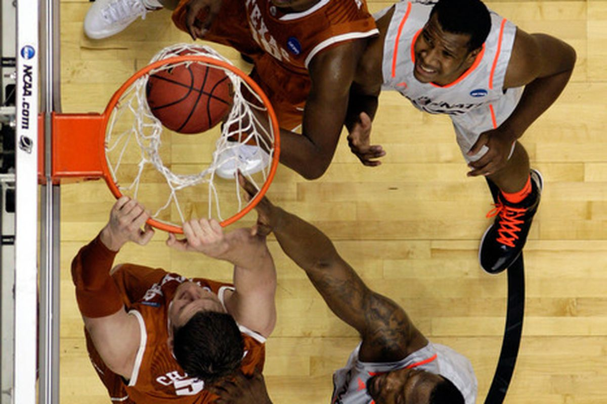 More of this would help the Texas offense.