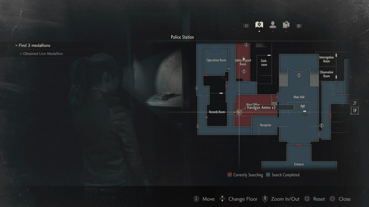 Resident Evil 2 Remake Claire Walkthrough Police Station