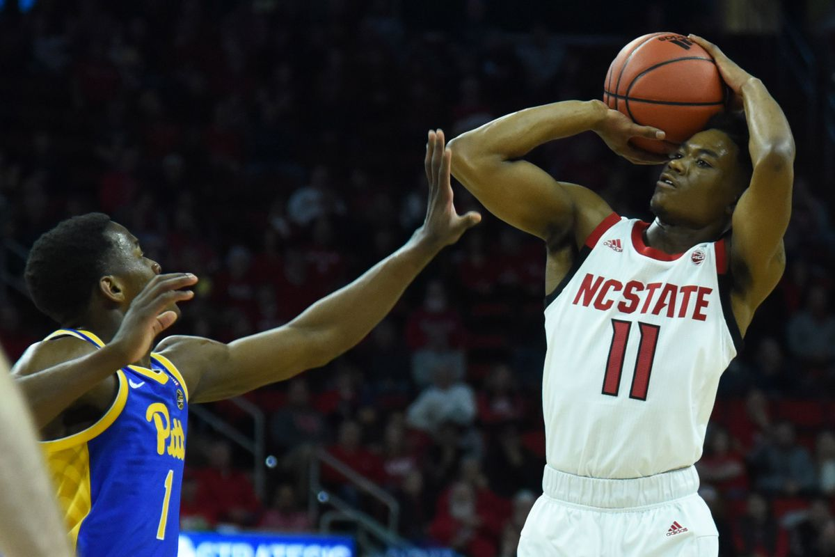 NCAA Basketball: Pittsburgh at N.C. State