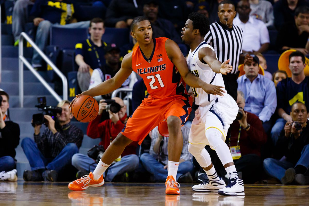 Malcolm Hill looks to build on a strong sophomore season for Illinois