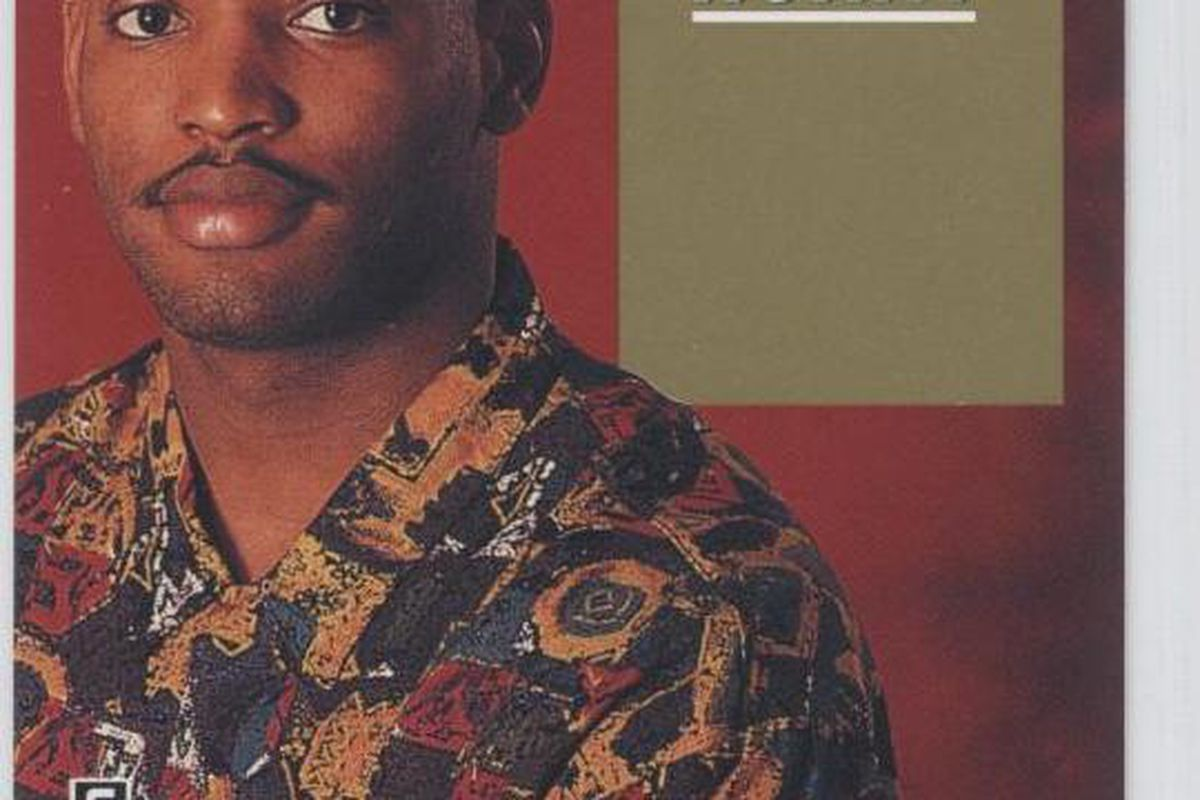 <em>Robert's high-top fade and knock-off Versace shirt are brought to you by the year 1991. Just relax on the white leather sectional, girl, while Smoove Rob spins a little Keith Sweat....</em>