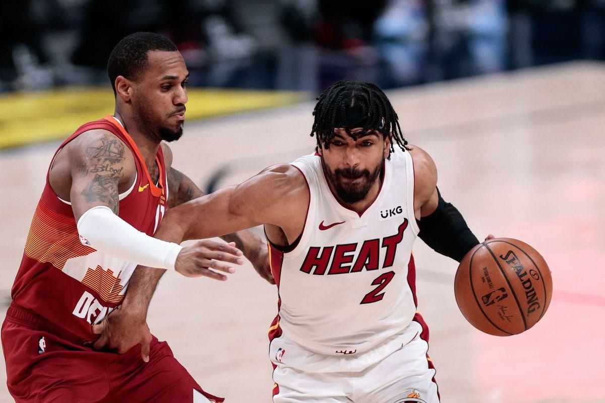 NBA: Miami Heat at Denver Nuggets